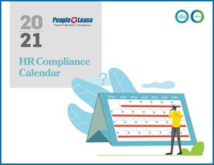 2020 Compliance Calendar Cover